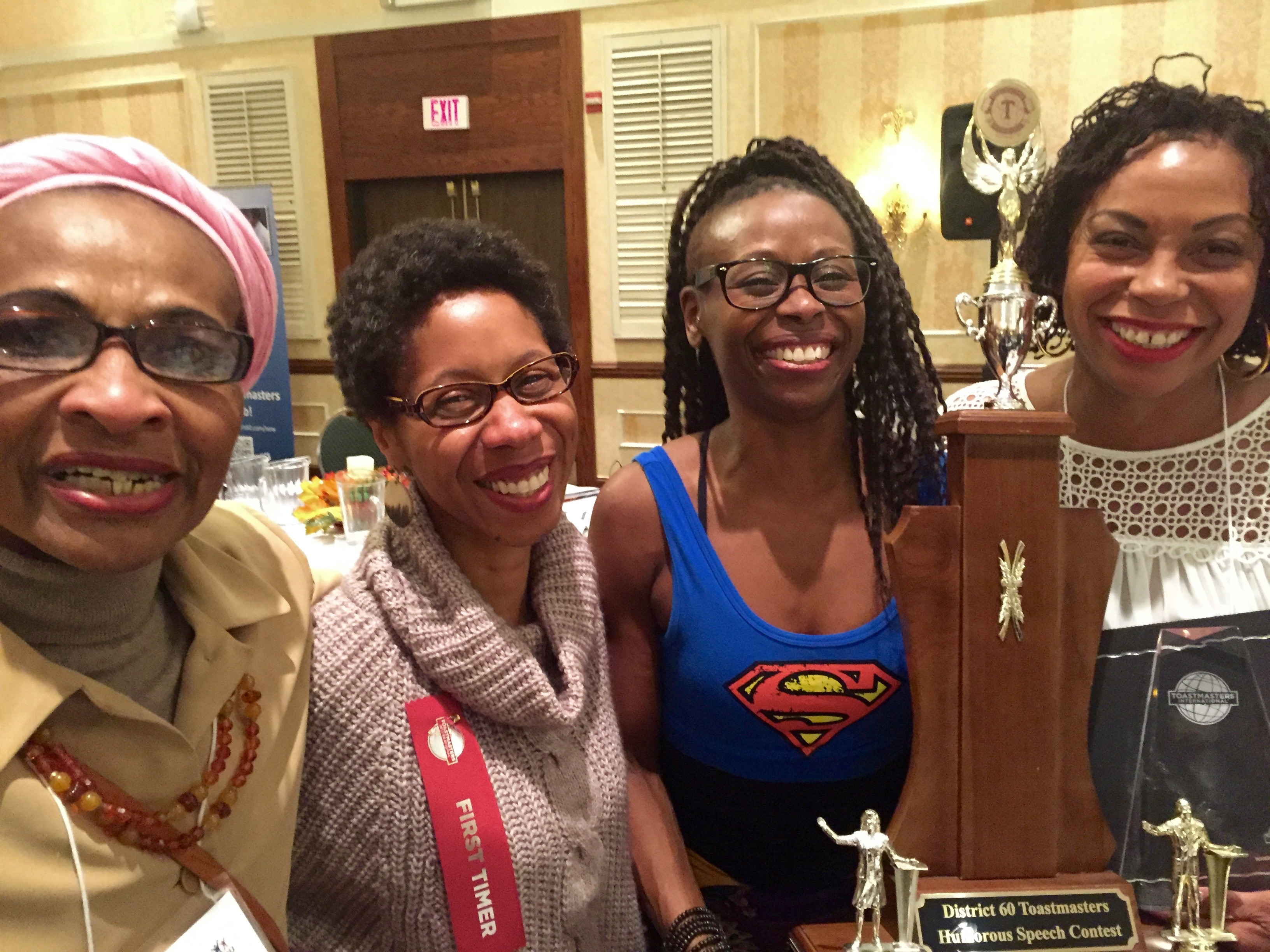 Ebony Toastmasters wins the top spots at the District contest